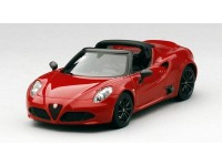 TSM MODEL MODELLINO AUTO ALFA ROMEO 4C SPIDER 2015 RED