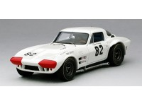 TSM MODEL MODELLINO AUTO CHEVROLET CORVETTE GRAND SPORT n.82 WINNER NASSAU SPEEDWEEK 1964