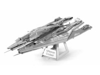 METAL EARTH MODELLINO MONTATO MASS EFFECT ALLIANCE CRUISER IN METALLO