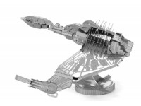 METAL EARTH MODELLINO MONTATO STAR TREK KLINGON BIRD OF PREY IN METALLO
