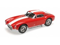 MINICHAMPS MODELLINO AUTO MASERATI A6GCS 1954 RED WITH WHITE STRIPES