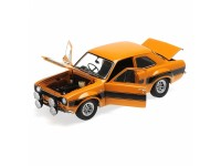 MINICHAMPS MODELLINO AUTO FORD ESCORT I RS1600 FAV 1970 ORANGE WITH BLACK STRIPES