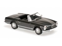 MODELLINO MERCEDES BENZ 230SL 1965 GREY IN METALLO MINICHAMPS
