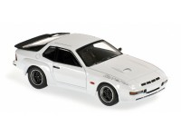 MODELLINO PORSCHE 924 GT 1981 WHITE IN METALLO MINICHAMPS
