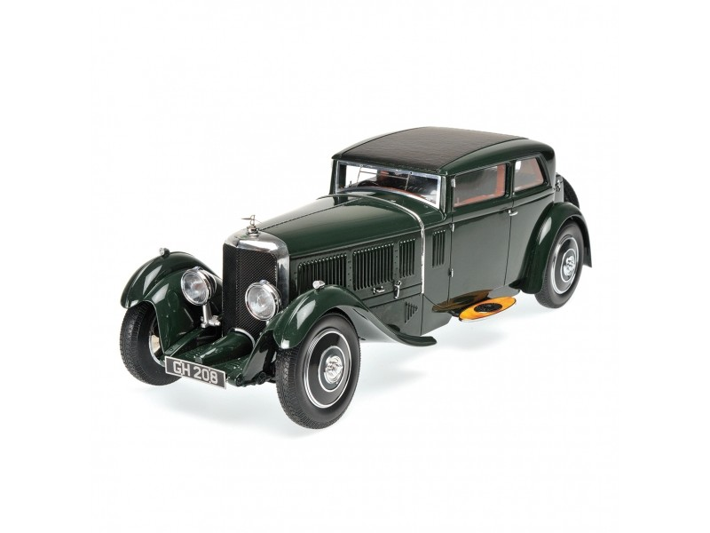 MODELLINO BENTLEY SPEED SIX CORSICA COUPE' 1930 BRITISH RACING GREEN IN RESINA MINICHAMPS