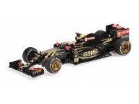 MODELLINO LOTUS F1 TEAM E23 HYBRID ROMAN GROSJEAN BELGIAN GP 2015 IN METALLO MINICHAMPS