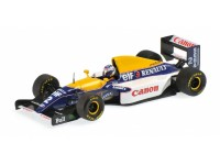 MODELLINO WILLIAMS RENAULT FW15 ALAIN PROST W. C. FORMULA 1 1993 IN METALLO MINICHAMPS
