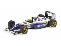 MODELLINO WILLIAMS RENAULT FW16 AYRTON SENNA 1994 IN METALLO MINICHAMPS
