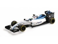 MODELLINO WILLIAMS MARTINI RACING MERCEDES FW37 MASSA ABU DHABI GP 2015 IN METALLO MINICHAMPS