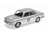 MODELLINO BMW 2000 TI ICKX HAHNE WINNER 24H SPA 1966 IN RESINA MINICHAMPS