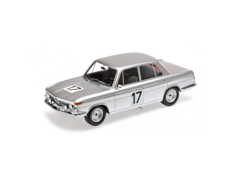 MODELLINO BMW 2000 TI ICKX HAHNE WINNER 24H SPA 1966 IN RESINA MINICHAMPS