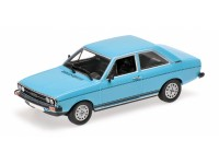 MODELLINO AUDI 80 GT 1972 LIGHT BLUE IN METALLO MINICHAMPS