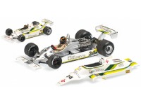 MODELLINO WILLIAMS FORD FW07 EMILIO DE VILLOTA SPANISH GP 1980 IN METALLO MINICHAMPS