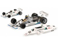 MODELLINO WILLIAMS FORD FW07 DESIREE WILSON BRITISH GP 1980 IN METALLO MINICHAMPS