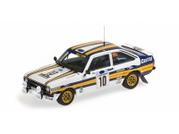 MODELLINO FORD ESCORT II RS1800 CASTROL VATANEN RICHARDS ACROPOLIS RALLY 1980 IN METALLO MINICHAMPS