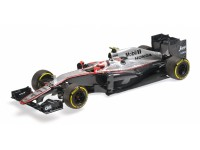 MODELLINO McLAREN HONDA MP4/30 JENSON BUTTON AUSTRALIAN GP 2015 IN RESINA MINICHAMPS