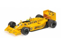 MODELLINO LOTUS 99T AYRTON SENNA 1987 IN METALLO MINICHAMPS