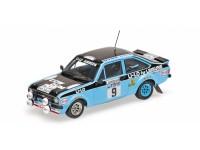 MODELLINO FORD ESCORT II RS1800 ESSO CLARK WILSON RAC RALLY 1978 IN METALLO MINICHAMPS