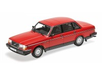 MODELLINO VOLVO 240 GL 1986 RED IN METALLO MINICHAMPS