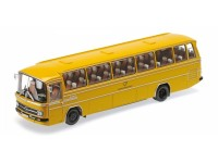 MODELLINO MERCEDES BENZ O302 BUS 1965 DEUTSCHE BUNDESPOST IN METALLO MINICHAMPS