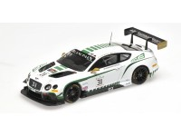 MODELLINO BENTLEY GT3 N.31 BLANCPAIN ENDURANCE SERIES NURBURGRING 2015 IN METALLO ALMOST REAL