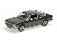 MODELLINO AUDI 100 COUPE' S 1969 VERDE SCURO IN METALLO MINICHAMPS