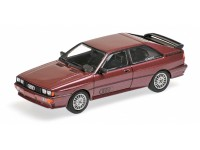 MODELLINO AUDI QUATTRO 1980 BROWN METALLIC IN METALLO MINICHAMPS