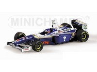 MODELLINO WILLIAMS RENAULT FW19 JACQUES VILLENEUVE W. C. FORMULA 1 1997 IN METALLO MINICHAMPS