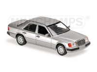 MODELLINO MERCEDES BENZ 230E 1991 SILVER METALLIC IN METALLO MINICHAMPS