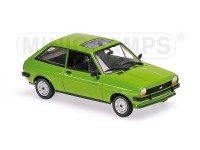MODELLINO FORD FIESTA 1976 LIGHT GREEN IN METALLO MINICHAMPS