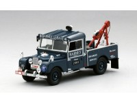 MODELLINO LAND ROVER SERIES I 107 RECOVERY TRUCK BARNES GARAGE IN RESINA TSM