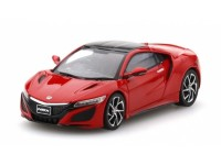 MODELLINO HONDA NSX CURVA RED RHD 2017 IN METALLO TSM