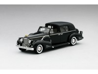 MODELLINO CADILLAC 1938 SERIES 90 V16 TOWN CAR BLACK IN RESINA TSM