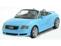 MODELLINO AUDI TT ROADSTER TURQUOISE IN METALLO MINICHAMPS