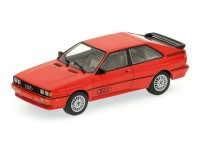 MODELLINO AUDI QUATTRO 1981 RED IN METALLO MINICHAMPS