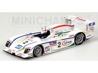 MODELLINO AUDI R8 CHAMPION RACING PIRRO LETHO 24H LE MANS 2004 IN METALLO MINICHAMPS