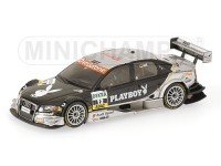 MODELLINO AUDI A4 PLAYBOY CH. ABT DTM 2006 IN METALLO MINICHAMPS