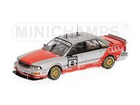 MODELLINO AUDI V8 QUATTRO TEAM AZR F. JELINSKI DTM 1992 IN METALLO MINICHAMPS