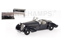 MODELLINO AUDI FRONT 225 ROADSTER DARK BLUE 1935 IN RESINA MINICHAMPS