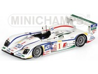 MODELLINO AUDI R8 TEAM CHAMPION LETHO WINNERS GP OF ATLANTA 2005 IN METALLO MINICHAMPS