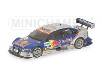 MODELLINO AUDI A4 RED BULL M. EKSTROM DTM 2006 IN METALLO MINICHAMPS