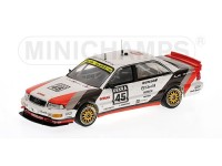 MODELLINO AUDI V8 TEAM AZR F. BIELA DTM CHAMPION 1991 IN METALLO MINICHAMPS
