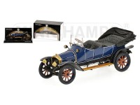 AMODELLINO AUDI TYP A 1910 BLUE IN RESINA MINICHAMPS