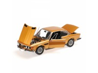 MODELLINO BMW 3.0 CSI (E9) COUPE' 1972 GOLD METALLIC IN METALLO MINICHAMPS