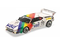 MODELLINO BMW M1 TEAM BMW FRANCE 24H LE MANS 1981 IN METALLO MINICHAMPS