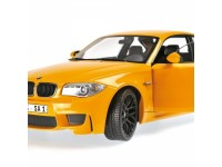 MODELLINO BMW 1ER M COUPE' 2011 YELLOW IN METALLO MINICHAMPS