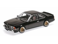 MODELLINO BMW 635 CSI 1983 BLACK IN METALLO MINICHAMPS