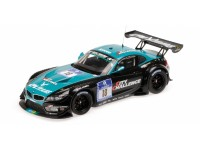 MODELLINO BMW Z4 GT3 TEAM VITA4ONE 24H NURBURGRING 2012 IN PLASTICA MINICHAMPS