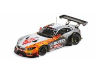MODELLINO BMW Z4 GT3 TEAM TDS RACING 24H SPA 2014 IN RESINA MINICHAMPS