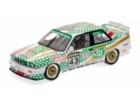 MODELLINO BMW M3 E30 TIC TAC DTM 1991 IN METALLO MINICHAMPS